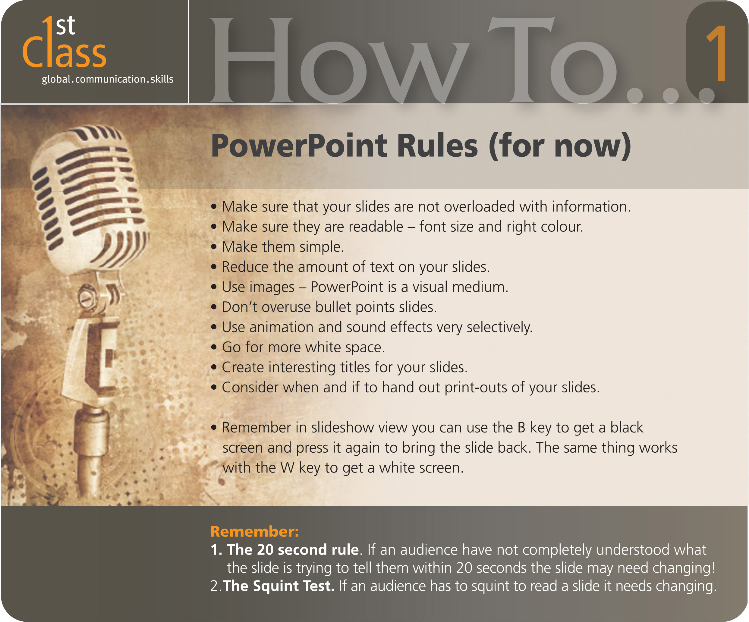powerpoint rules